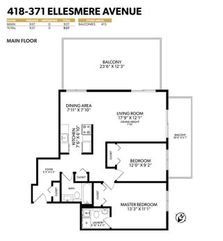"""Photo 30: 418 371 ELLESMERE Avenue in Burnaby: Capitol Hill BN Condo for sale in """"Westcliff Arms"""" (Burnaby North)  : MLS®# R2549918"""