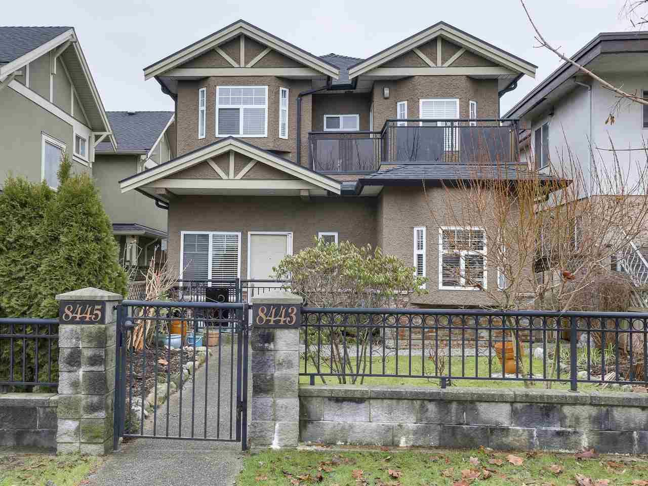 """Main Photo: 8445 FREMLIN Street in Vancouver: Marpole 1/2 Duplex for sale in """"MARPOLE"""" (Vancouver West)  : MLS®# R2135044"""