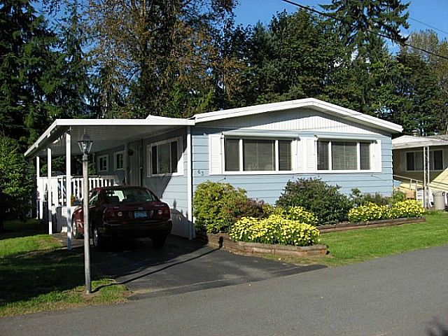 "Main Photo: 63 4200 DEWDNEY TRUNK Road in Coquitlam: Ranch Park Manufactured Home for sale in ""HIDEWAY PARK"" : MLS®# V1076681"