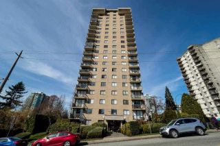 """Photo 1: 407 145 ST. GEORGES Avenue in North Vancouver: Lower Lonsdale Condo for sale in """"TALISMAN TOWERS"""" : MLS®# R2583805"""