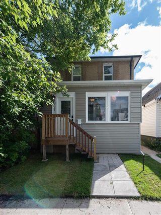 Photo 1: 687 Garfield Street North in Winnipeg: West End Residential for sale (5C)  : MLS®# 202121462