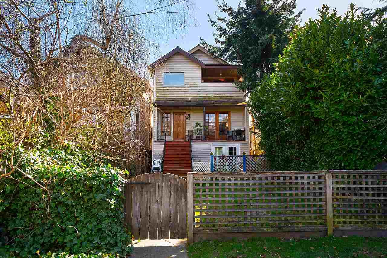 Main Photo: 2890 W 8TH Avenue in Vancouver: Kitsilano House for sale (Vancouver West)  : MLS®# R2562299