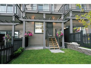 """Photo 2: 115 1480 SOUTHVIEW Street in Coquitlam: Burke Mountain Townhouse for sale in """"CEDAR CREEK"""" : MLS®# V1021731"""