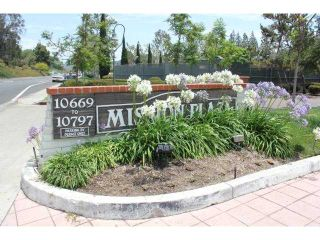 Photo 1: MISSION VALLEY Condo for sale : 1 bedrooms : 10767 San Diego Mission Road #210 in San Diego