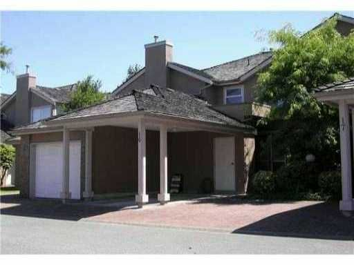 """Main Photo: 16 9671 CAPELLA Drive in Richmond: West Cambie Townhouse for sale in """"OAKLAND GATE"""" : MLS®# V846511"""