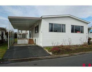"""Photo 1: 14 2303 CRANLEY Drive in White Rock: King George Corridor Manufactured Home for sale in """"SUNNYSIDE ESTATES"""" (South Surrey White Rock)  : MLS®# F2701302"""