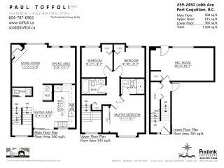 Photo 13: # 59 2450 LOBB AV in Port Coquitlam: Mary Hill Condo for sale : MLS®# V1057747