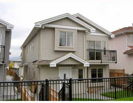 Main Photo: 5825 WOODSWORTH Street in Burnaby: Central BN 1/2 Duplex for sale (Burnaby North)  : MLS®# V748580