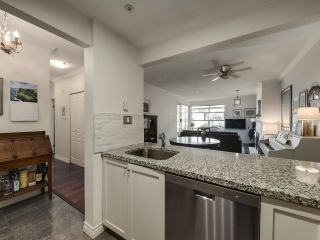 """Photo 8: 104 1990 E KENT AVENUE SOUTH in Vancouver: South Marine Condo for sale in """"Harbour House at Tugboat Landing"""" (Vancouver East)  : MLS®# R2607315"""