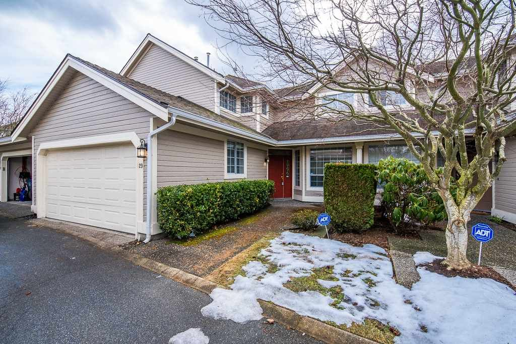 """Main Photo: 29 6380 121 Street in Surrey: Panorama Ridge Townhouse for sale in """"Forest Ridge"""" : MLS®# R2342943"""