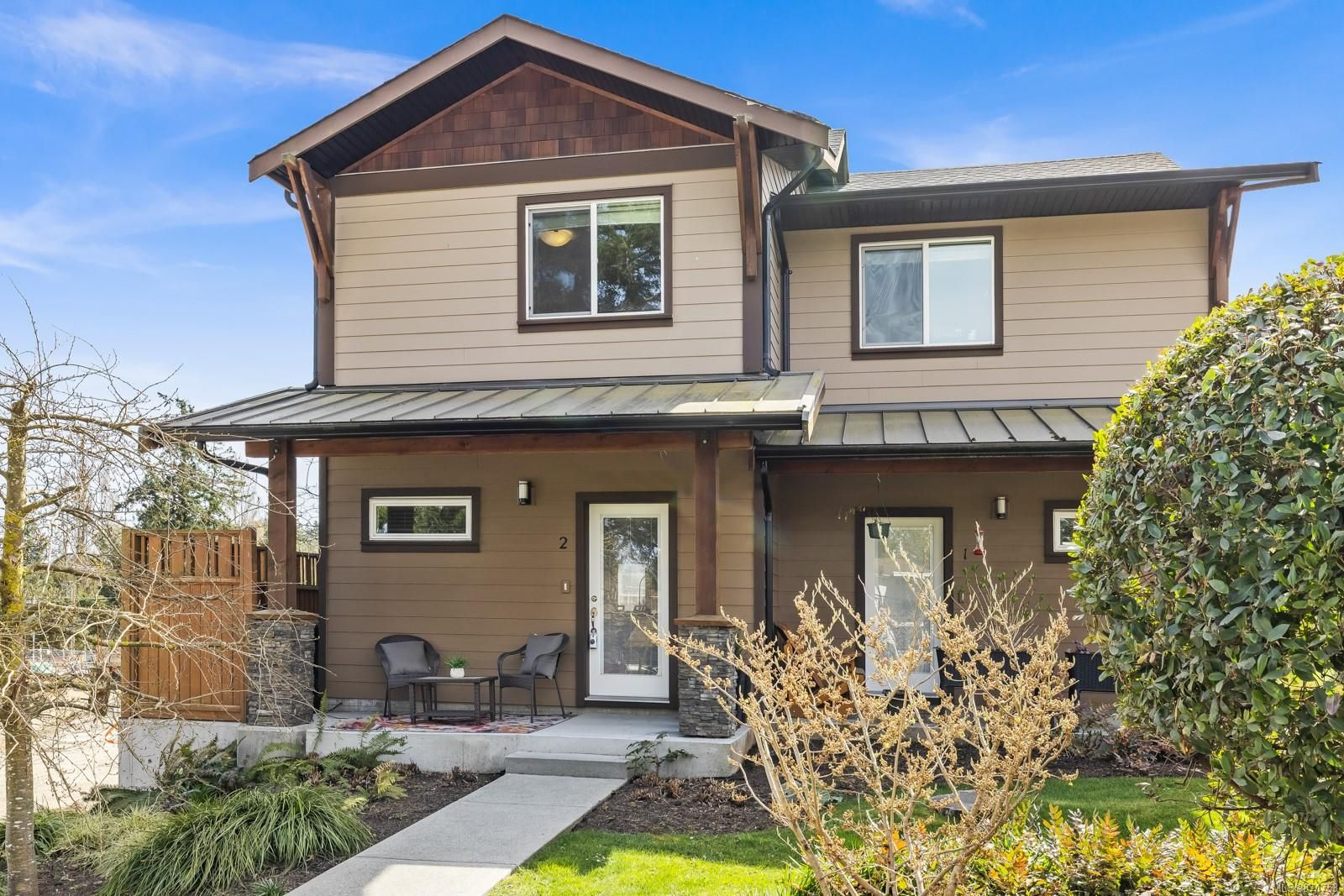 Main Photo: 2 1893 Prosser Rd in : CS Saanichton Row/Townhouse for sale (Central Saanich)  : MLS®# 871753