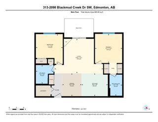 Photo 27: 313 2098 BLACKMUD CREEK Drive in Edmonton: Zone 55 Condo for sale : MLS®# E4225645