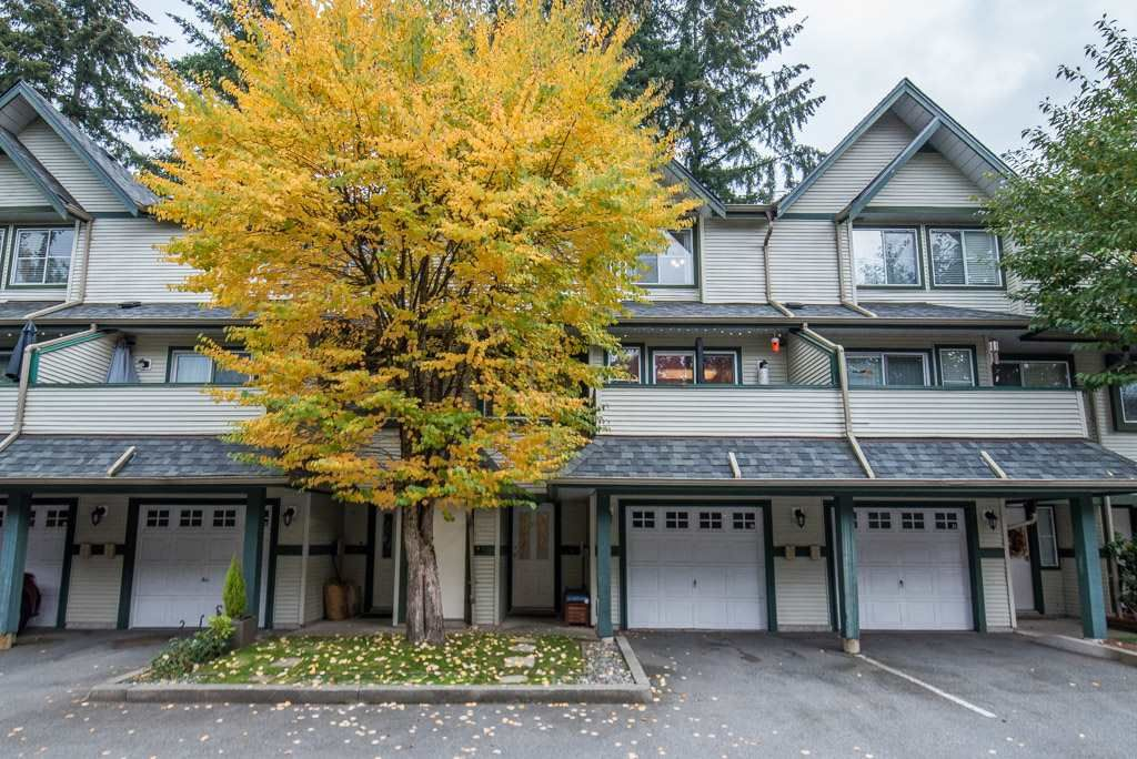 "Main Photo: 37 19034 MCMYN Road in Pitt Meadows: Mid Meadows Townhouse for sale in ""MEADOWVALE"" : MLS®# R2364974"