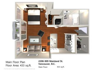 "Photo 1: 2208 909 MAINLAND Street in Vancouver: Yaletown Condo for sale in ""YALETOWN PARK"" (Vancouver West)  : MLS®# V1038320"