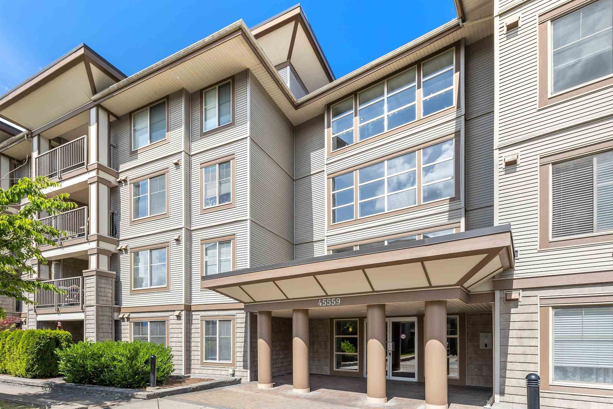 """Main Photo: 314 45559 YALE Road in Chilliwack: Chilliwack W Young-Well Condo for sale in """"THE VIBE"""" : MLS®# R2593839"""