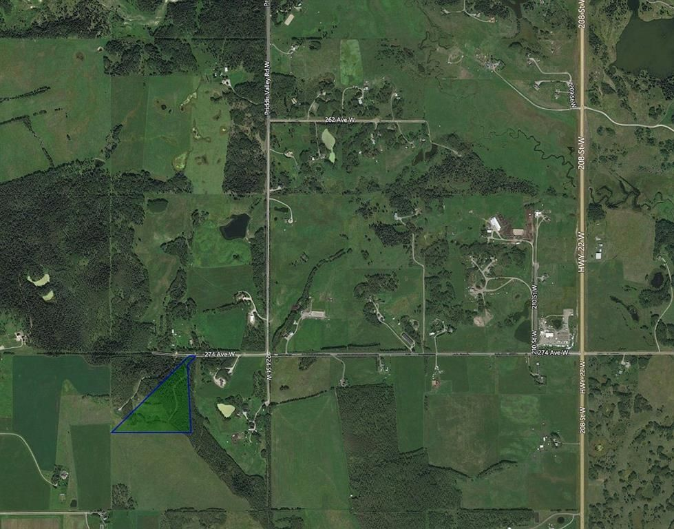 Main Photo: 224061 274 Avenue W: Rural Foothills County Residential Land for sale : MLS®# A1095002