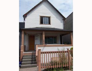 Photo 1: 1827 PANDORA Street in Vancouver: Hastings House for sale (Vancouver East)  : MLS®# V771015