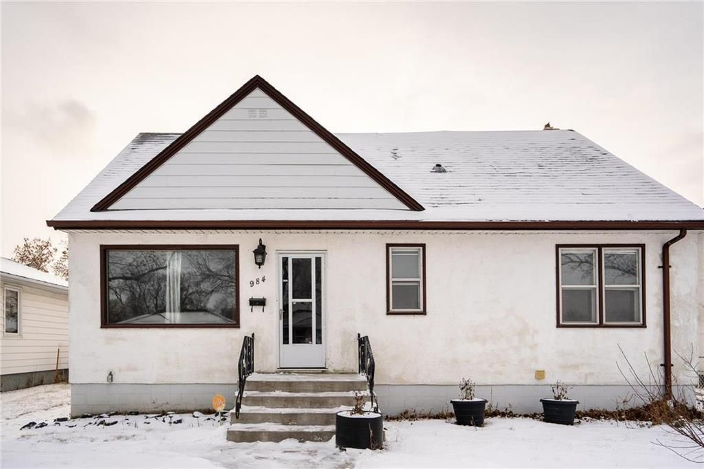 Photo 1: Photos: 984 Cathedral Avenue in Winnipeg: Sinclair Park Residential for sale (4C)  : MLS®# 202029493