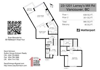 "Photo 35: 23 1201 LAMEY'S MILL Road in Vancouver: False Creek Condo for sale in ""ALDER Bay Place"" (Vancouver West)  : MLS®# R2558476"