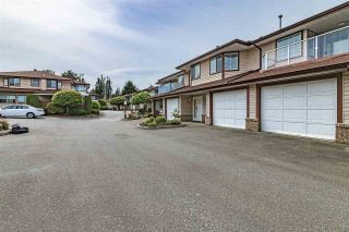 """Photo 1: 32 32659 GEORGE FERGUSON Way in Abbotsford: Abbotsford West Townhouse for sale in """"CANTERBURY GATE"""" : MLS®# R2343640"""