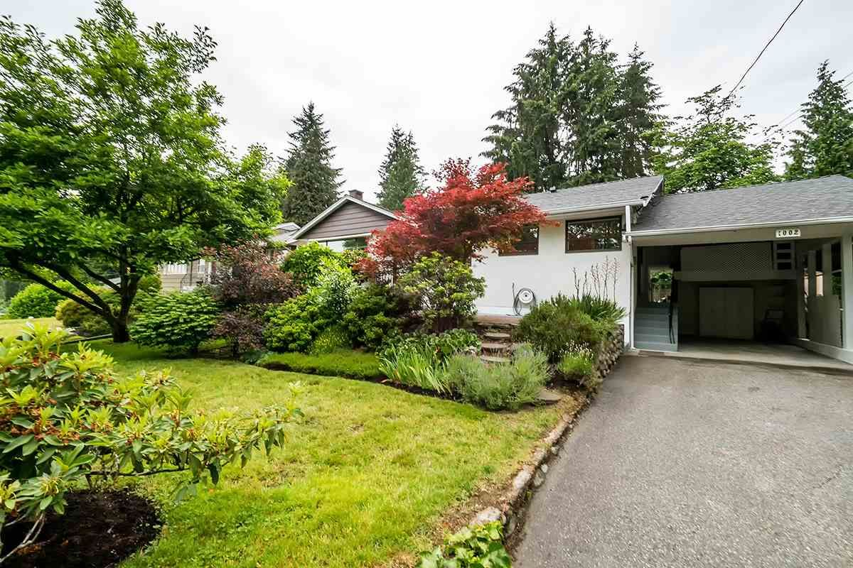 Main Photo: 1002 CLEMENTS Avenue in North Vancouver: Canyon Heights NV House for sale : MLS®# R2078694