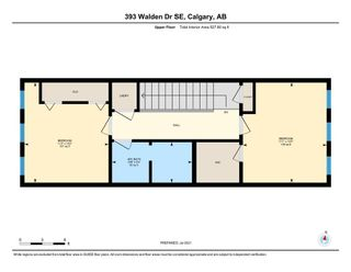 Photo 50: 393 WALDEN Drive SE in Calgary: Walden Row/Townhouse for sale : MLS®# A1126441