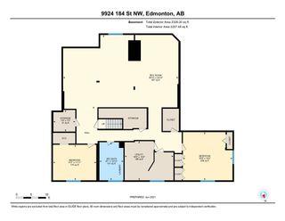 Photo 50: 9924 184 Street in Edmonton: Zone 20 House for sale : MLS®# E4247371