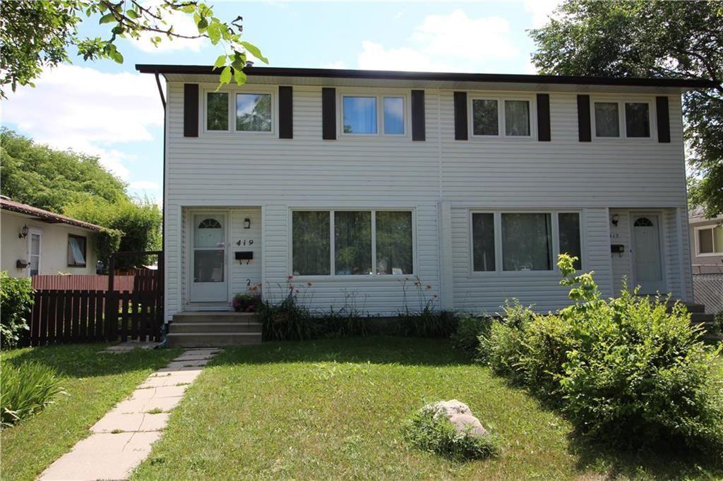 Main Photo: 419 Keenleyside Street in Winnipeg: East Elmwood Residential for sale (3B)  : MLS®# 202018714