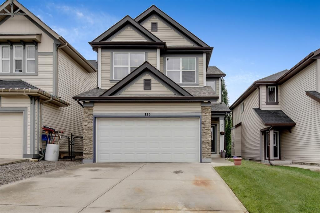 Main Photo: 113 Sunset Heights: Cochrane Detached for sale : MLS®# A1123086