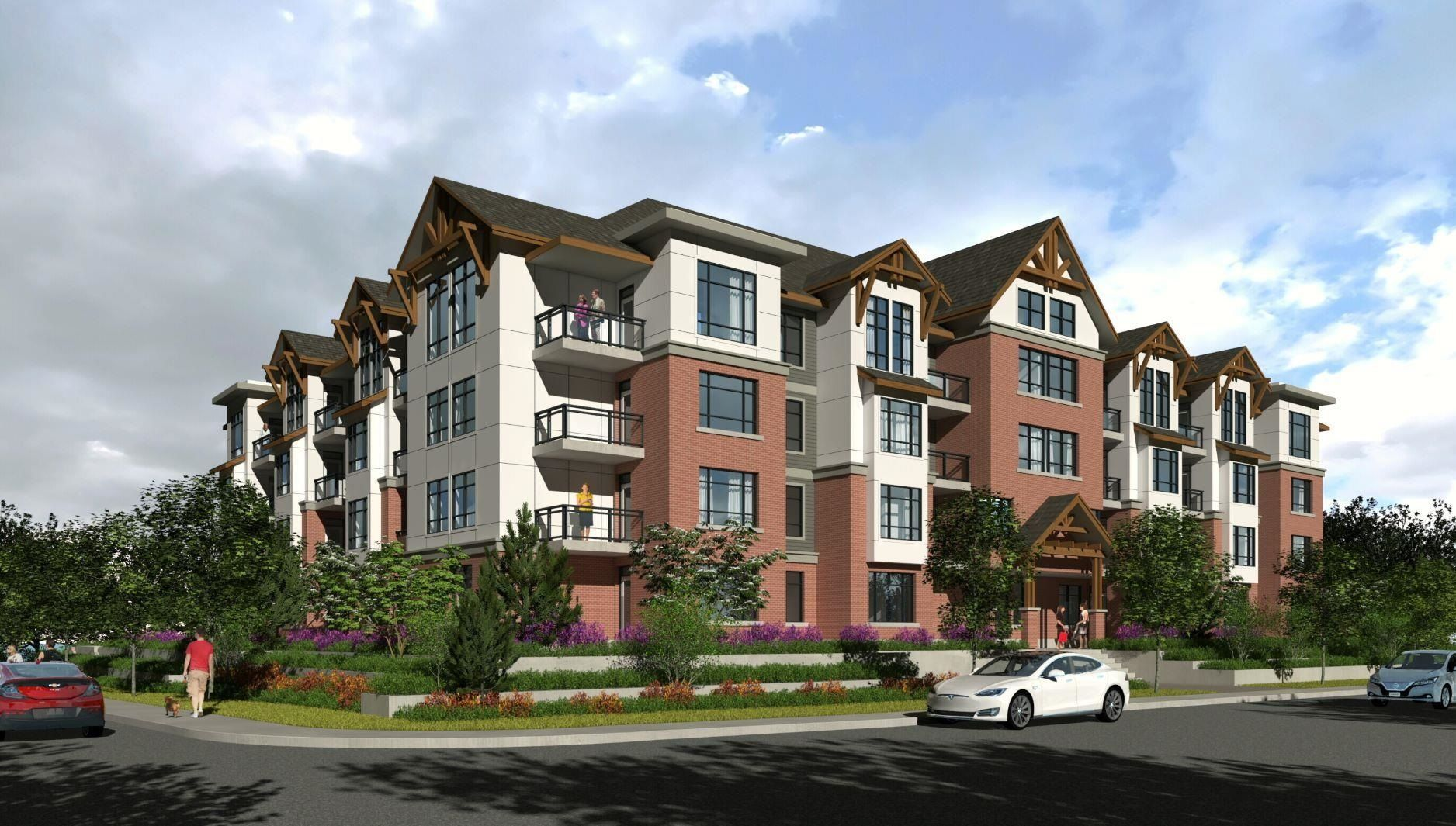 """Main Photo: 104 19945 BRYDON Crescent in Langley: Langley City Condo for sale in """"ATRIUM"""" : MLS®# R2619484"""
