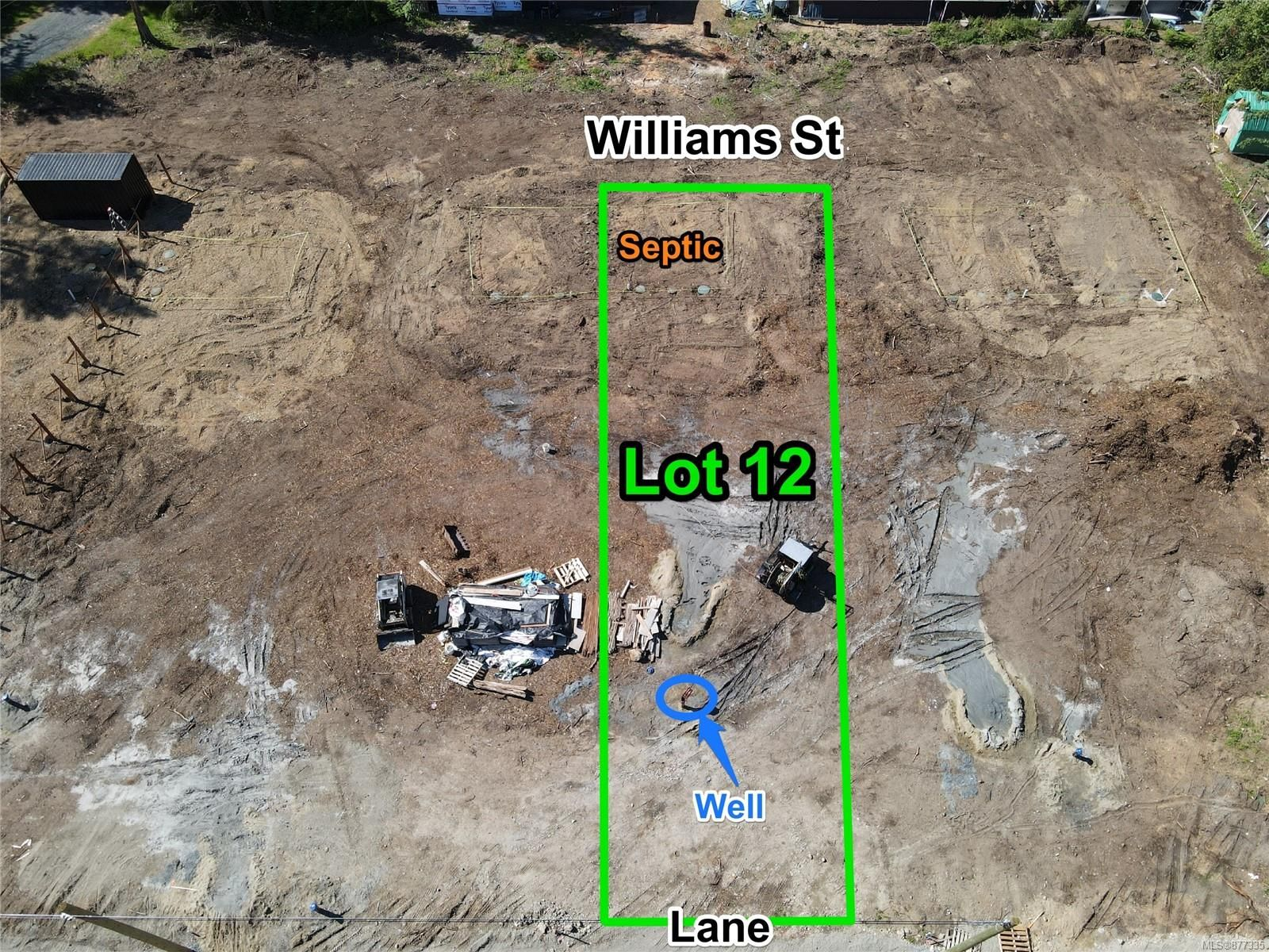 Main Photo: Lot 12 Williams St in : PQ Errington/Coombs/Hilliers Land for sale (Parksville/Qualicum)  : MLS®# 877335