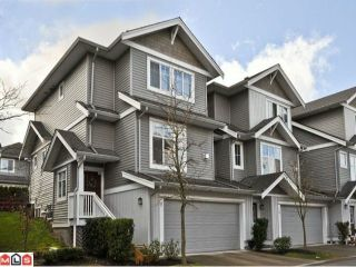 """Photo 1: 9 16760 61ST Avenue in Surrey: Cloverdale BC Townhouse for sale in """"Harvest Landing"""" (Cloverdale)  : MLS®# F1106034"""