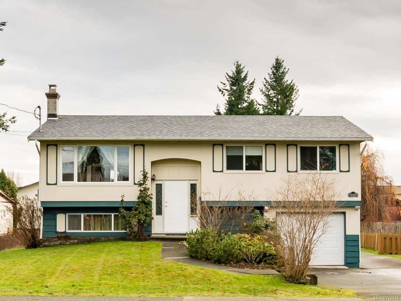 Main Photo: 1120 21ST STREET in COURTENAY: CV Courtenay City House for sale (Comox Valley)  : MLS®# 775318