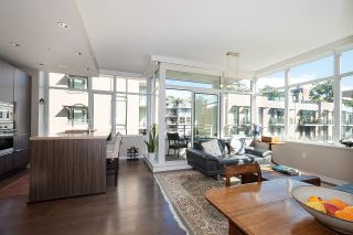 """Photo 9: 410 181 W 1ST Avenue in Vancouver: False Creek Condo for sale in """"The Brook"""" (Vancouver West)  : MLS®# R2614809"""