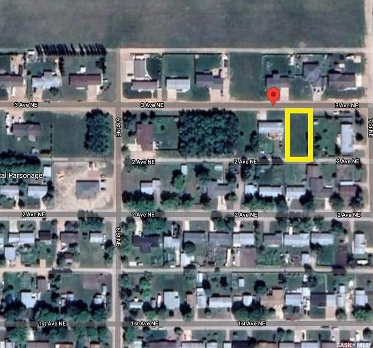 Main Photo: 659 3rd Avenue Northeast in Preeceville: Lot/Land for sale : MLS®# SK850851