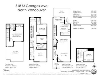 """Photo 27: 518 ST. GEORGES Avenue in North Vancouver: Lower Lonsdale Townhouse for sale in """"Streamline Place"""" : MLS®# R2610734"""