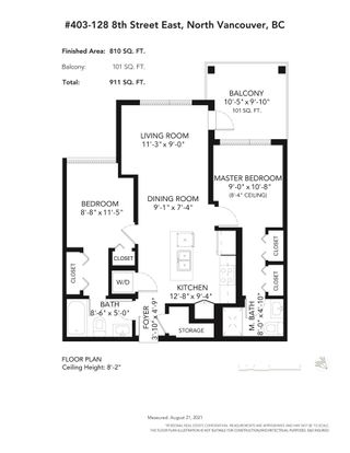"""Photo 2: 403 128 E 8TH Street in North Vancouver: Central Lonsdale Condo for sale in """"CREST"""" : MLS®# R2611340"""