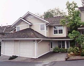 """Photo 1: 2590 PANORAMA Drive in Coquitlam: Westwood Plateau Townhouse for sale in """"BUCKINGHAM COURT"""" : MLS®# V628086"""