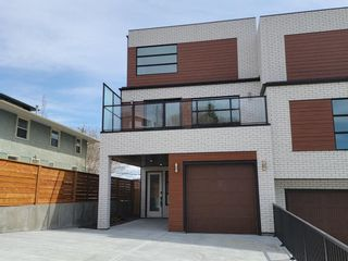 Main Photo: 4122 Stanley Road SW in Calgary: Parkhill Semi Detached for sale : MLS®# A1101641