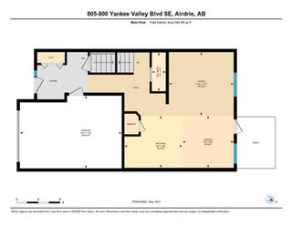 Photo 30: 805 800 Yankee Valley Boulevard SE: Airdrie Row/Townhouse for sale : MLS®# A1103338