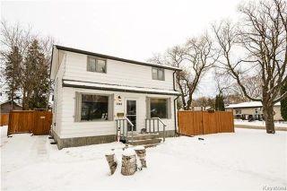 Photo 1: 1048 Edderton Avenue in Winnipeg: West Fort Garry Residential for sale (1Jw)  : MLS®# 1730994