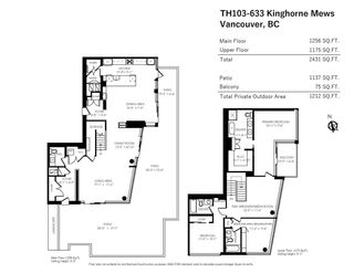 """Photo 20: TH103 633 KINGHORNE Mews in Vancouver: Yaletown Townhouse for sale in """"ICON II"""" (Vancouver West)  : MLS®# R2574326"""