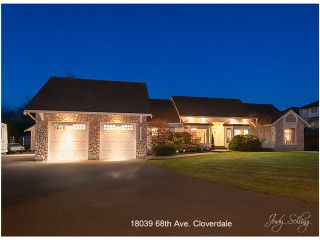 """Photo 28: 18039 68TH Avenue in Surrey: Cloverdale BC House for sale in """"NORTH CLOVERDALE WEST"""" (Cloverdale)  : MLS®# F1412711"""