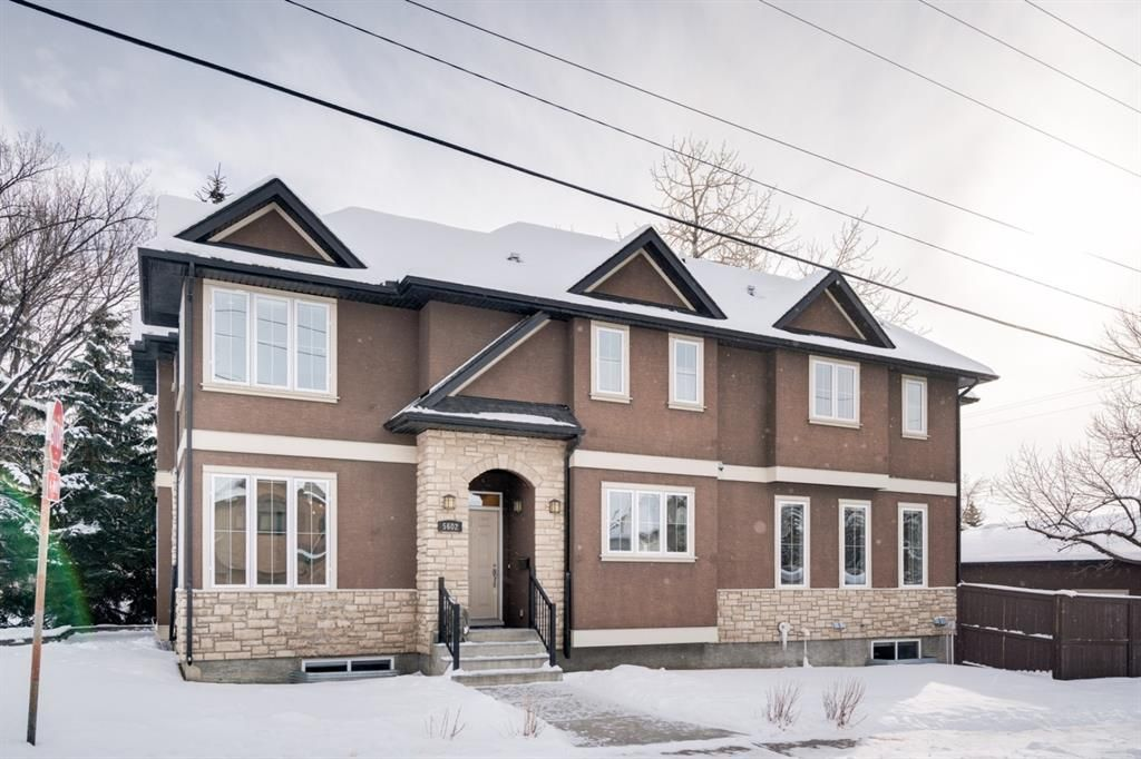 Main Photo: 5602 5 Street SW in Calgary: Windsor Park Semi Detached for sale : MLS®# A1066673