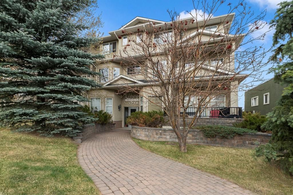 Main Photo: 103 4718 Stanley Road SW in Calgary: Elboya Apartment for sale : MLS®# A1103796