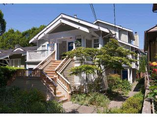 Photo 1: 2587 W 6TH Avenue in Vancouver: Kitsilano Townhouse for sale (Vancouver West)  : MLS®# V1126140