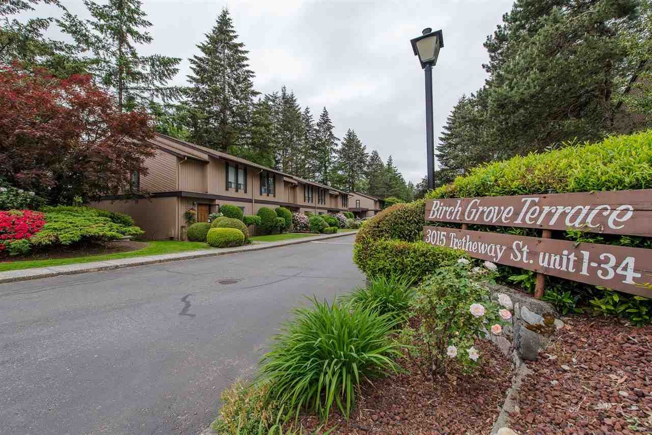 """Main Photo: 4 3015 TRETHEWEY Street in Abbotsford: Central Abbotsford Townhouse for sale in """"Birch Grove Terrace"""" : MLS®# R2272220"""