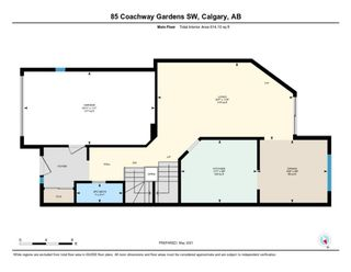 Photo 39: 85 Coachway Gardens SW in Calgary: Coach Hill Row/Townhouse for sale : MLS®# A1110212