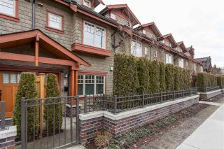 "Photo 1: 5938 OAK Street in Vancouver: Oakridge VW Townhouse for sale in ""MONTGOMERY TOWNHOMES"" (Vancouver West)  : MLS®# R2162666"