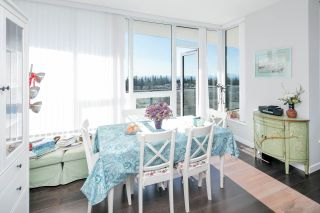 """Photo 5: 1707 5628 BIRNEY Avenue in Vancouver: University VW Condo for sale in """"THE LAUREATE"""" (Vancouver West)  : MLS®# R2384950"""